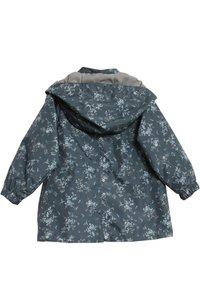 Wheat - Waterproof jacket - grey/blue - 1