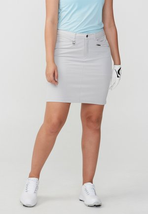 COMFORT STRETCH - Sports skirt - silver gray