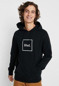 HUF - BOX LOGO HOODIE - Hoodie - black - 0
