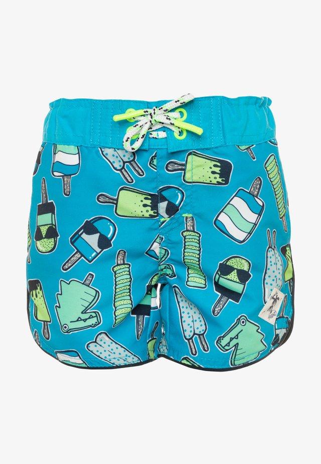 NMMZICE  - Swimming shorts - hawaiian ocean