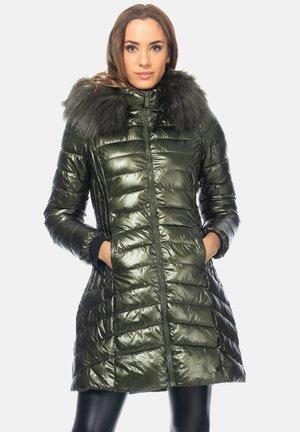 Winter coat - verde oscuro