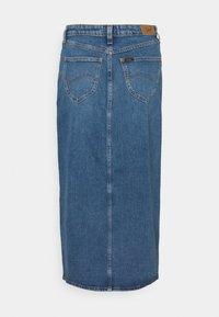 Lee - ULTRA LONG SPLIT  - Gonna di jeans - vintage lewes - 1