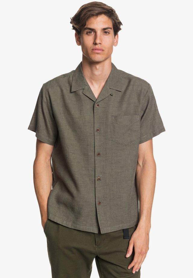 Shirt - deep green fiftiesmicro