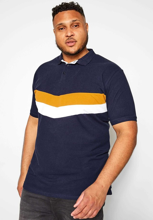 CHEVRON - Polo shirt - blue