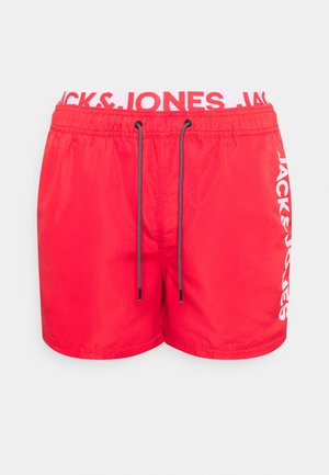 JJIBALI LOGO - Swimming shorts - flame scarlet