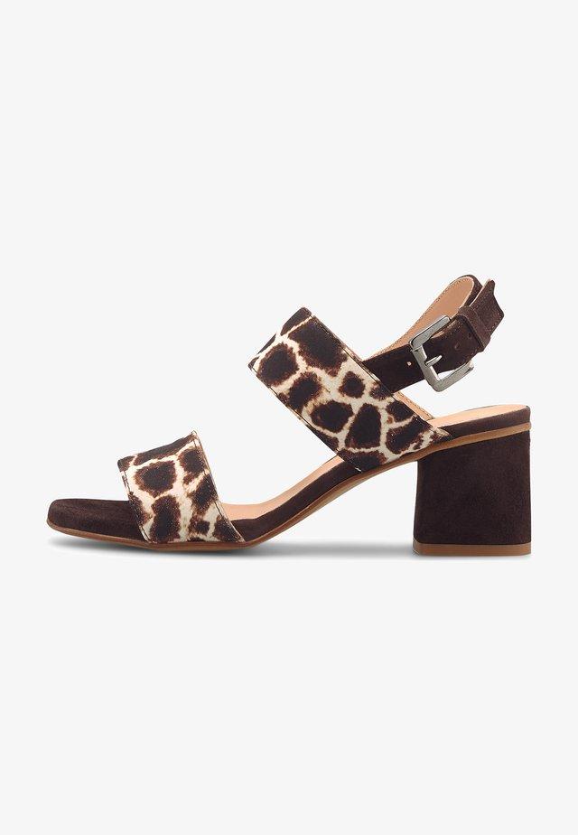 FASHION - Sandals - mittelbraun