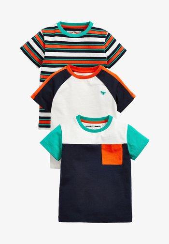 3 PACK - T-shirt med print - multi coloured
