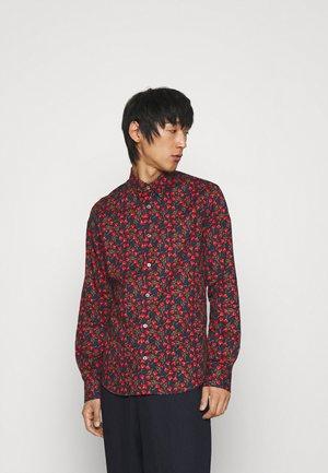 SLIM SHIRT - Overhemd - black/multi-coloured