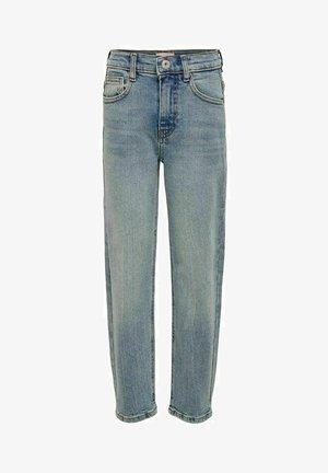 KONCALLA - Straight leg jeans - light blue denim