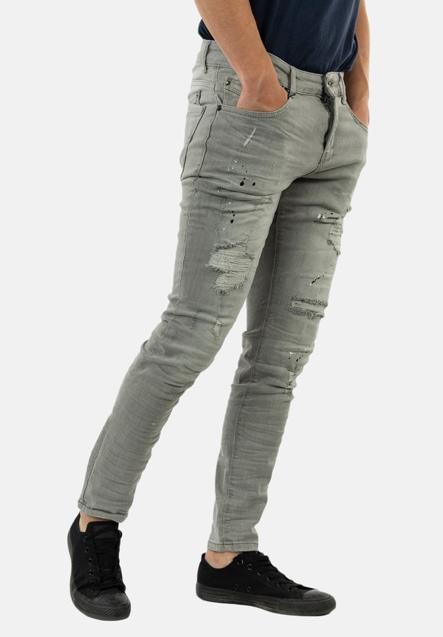 Jean slim - gris