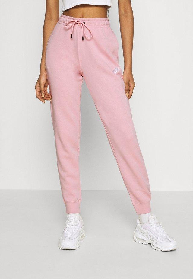 PANT - Tracksuit bottoms - pink glaze/white