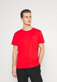 GANT - ORIGINAL - T-shirt - bas - lava red - 0