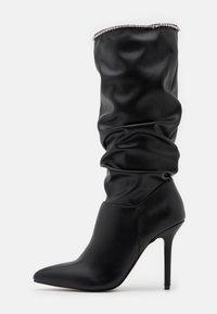 BEBO - SHORE - Boots med høye hæler - black - 1