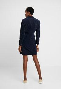Marc O'Polo - CORDUROY STYLE - Shirt dress - midnight blue - 2