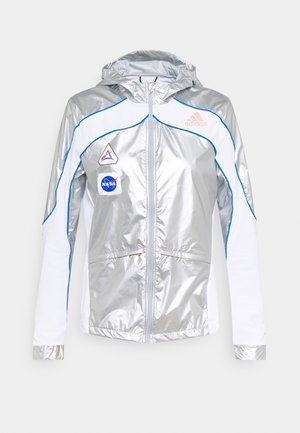 SPACE - Laufjacke - silver/white