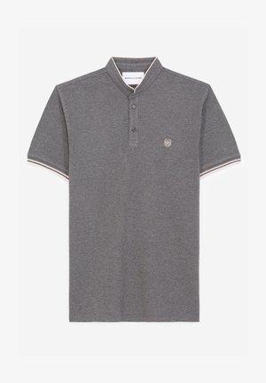Polo shirt - medgrey mel / lotus pink