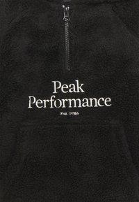 Peak Performance - ORIGINAL PILE HOOD - Hoodie - black - 2