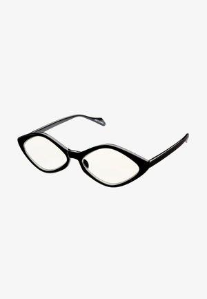 PUK BLUE LIGHT GLASSES - Solglasögon - black