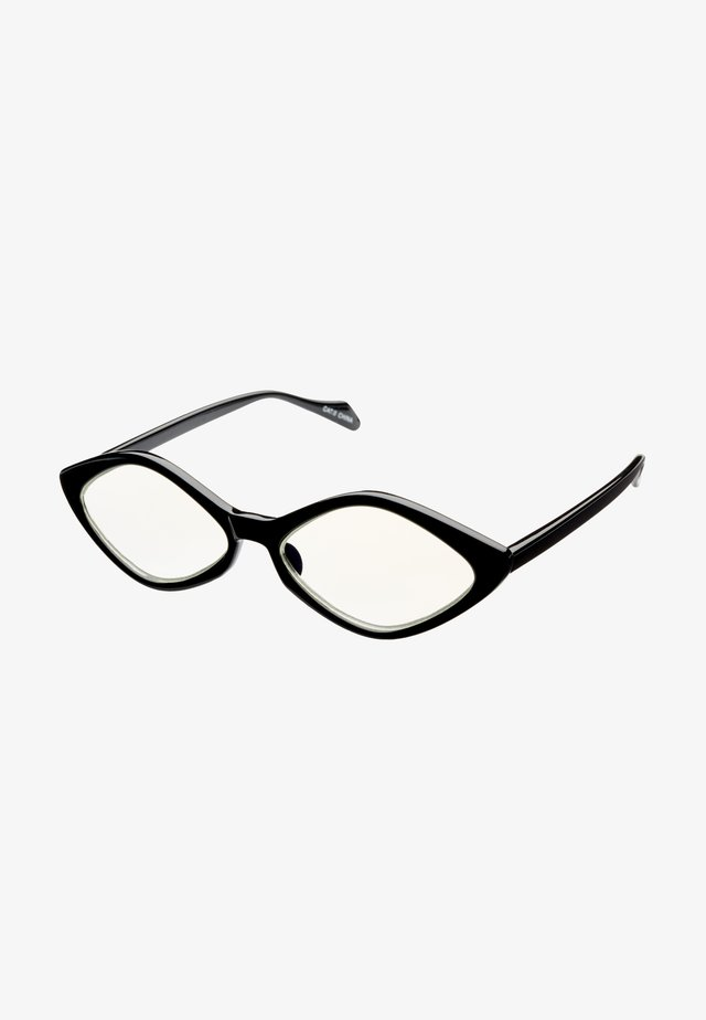 PUK BLUE LIGHT GLASSES - Lunettes de soleil - black