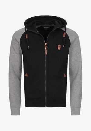 ARBUTUS - Zip-up hoodie - black