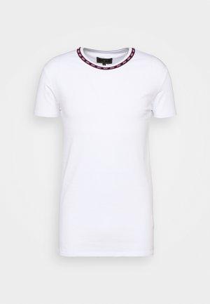 BOUND LOGO GYM TEE - T-shirt basic - white