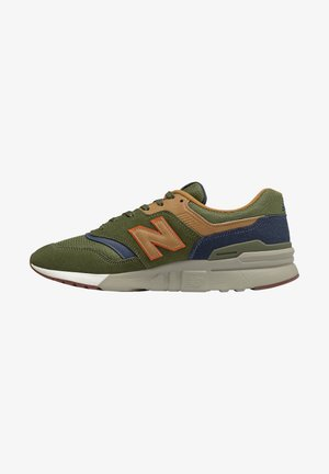 Trainers - olive, blue, brown