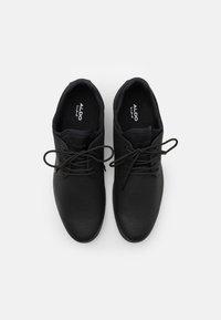 ALDO - REID - Casual lace-ups - open black - 3