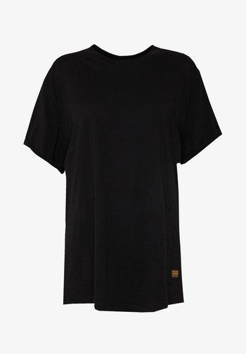 LASH LOOSE - Basic T-shirt - black