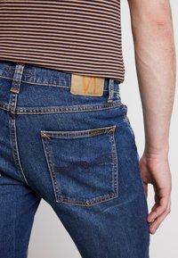 Nudie Jeans - LEAN DEAN - Slim fit -farkut - indigo shades - 5