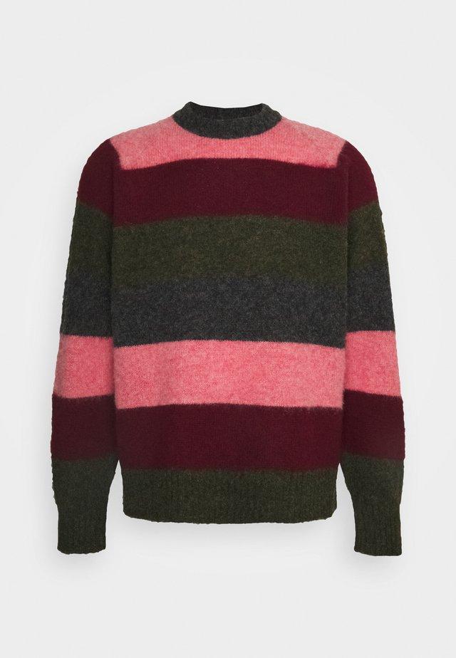 BRYER CREW NECK - Stickad tröja - multi-coloured