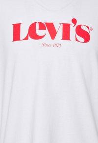 Levi's® - TEE UNISEX - Print T-shirt - neutrals - 4