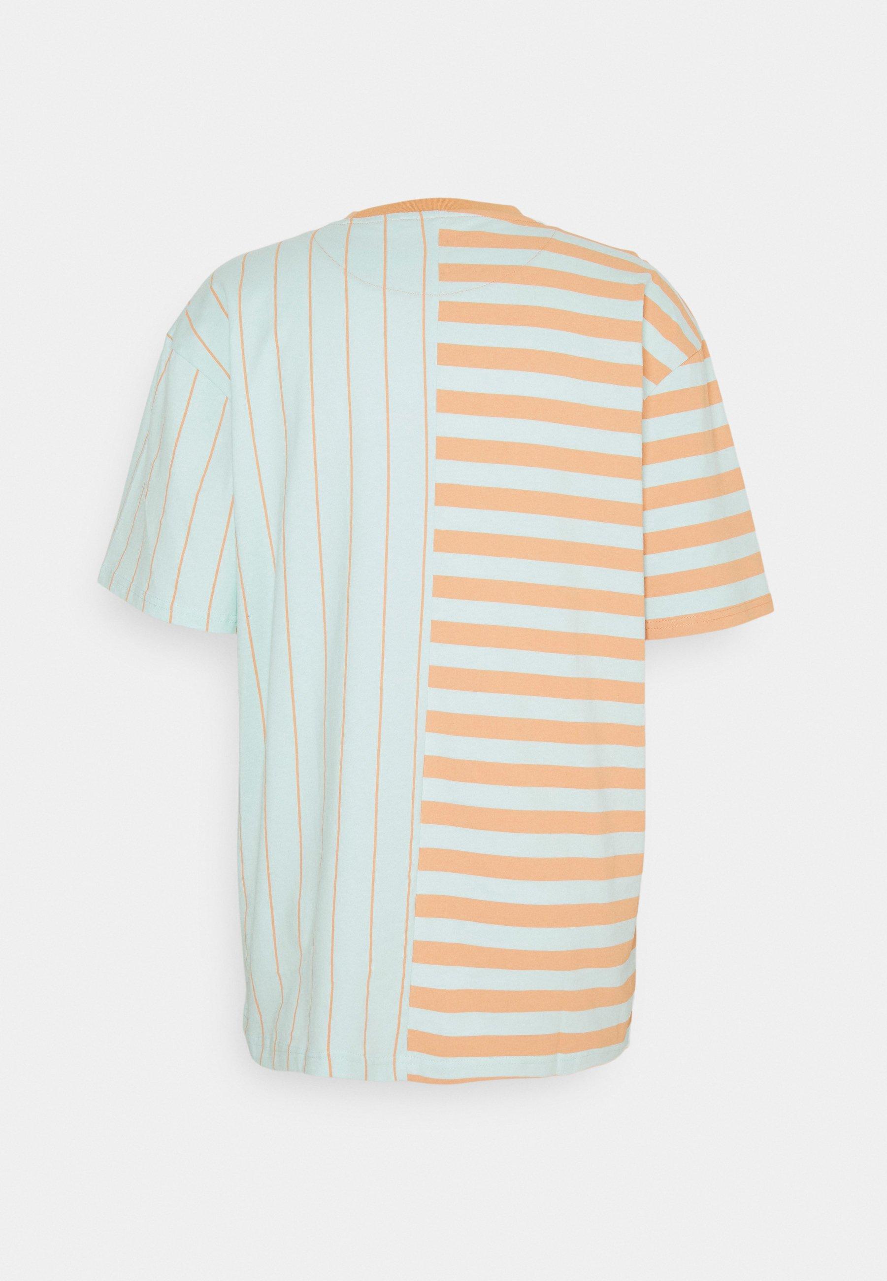 Men ORIGINALS BLOCK STRIPE TEE UNISEX - Print T-shirt