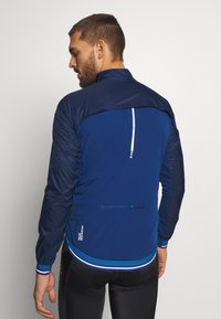 ODLO - JACKET ZEROWEIGHT DUAL DRY - Windbreaker - estate blue - 2