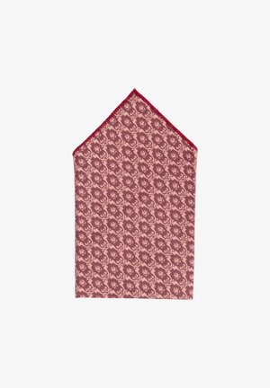 TANTE ALMA - Lommetørklæde - dunkelrot/rosé