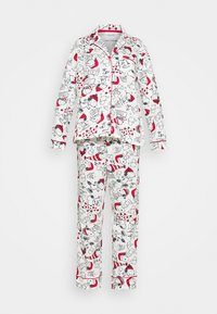 Women Secret - LONG SLEEVES MASCULINE SET - Pyžamová sada - white - 3