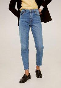 Mango - NEWMOM - Relaxed fit jeans - medium blue - 0