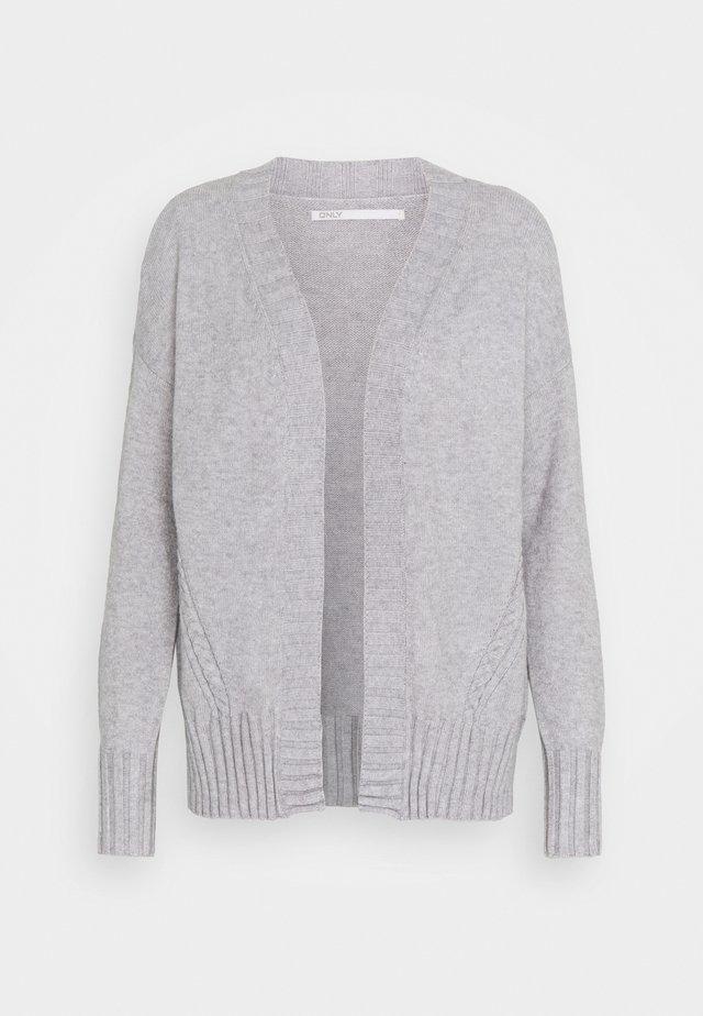 ONLSANDY CARDIGAN - Cardigan - light grey melange