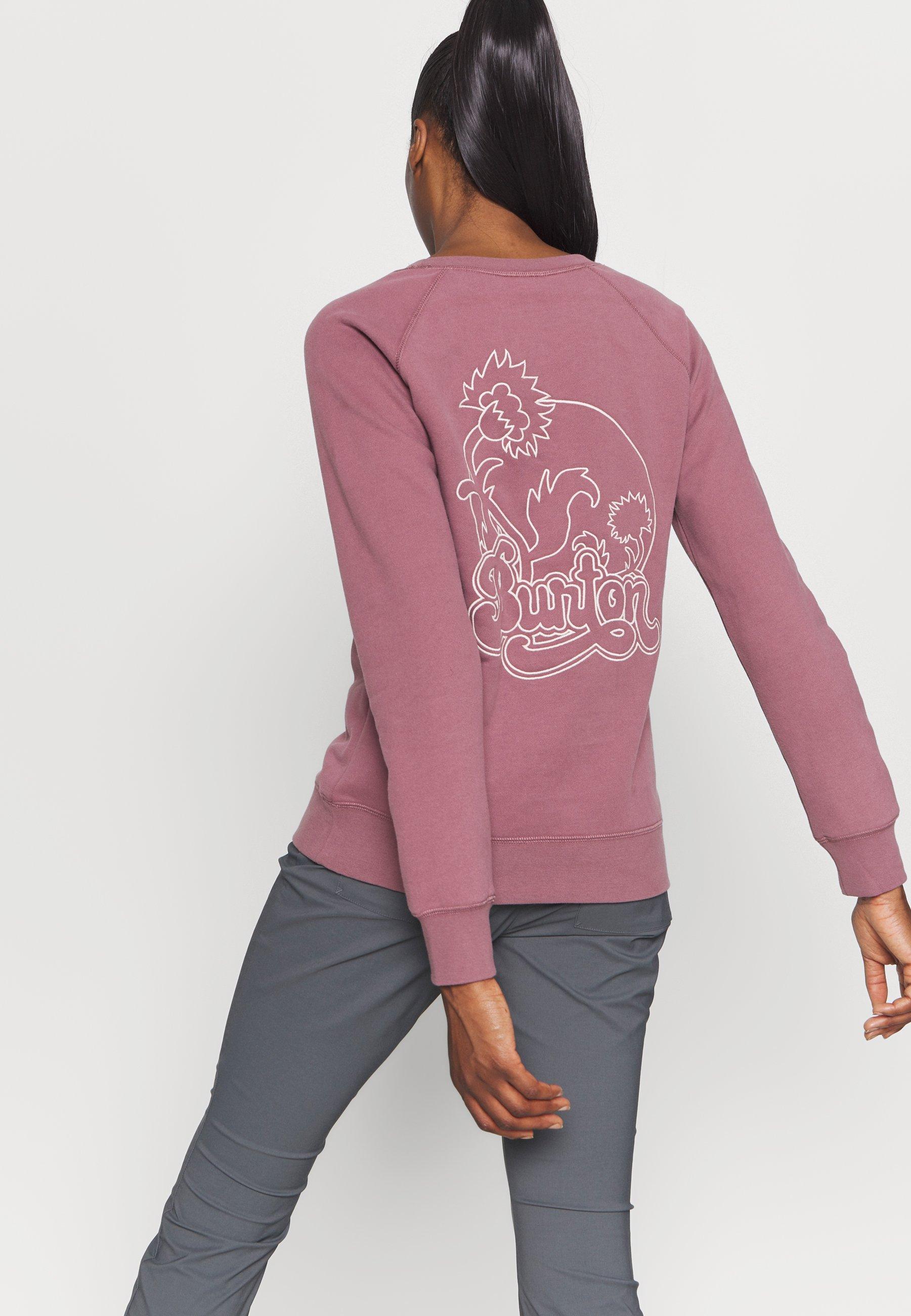 Burton KEELER CREW - Sweatshirt - rose brown
