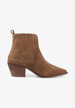 TREND - Classic ankle boots - mittelbraun