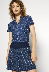 Puma Golf - MATTR DISPERSION - Print T-shirt - navy blazer/mazarine blue - 3