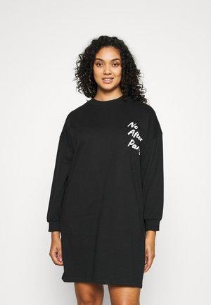NMHANGOVER DRESS - Vestito estivo - black/white