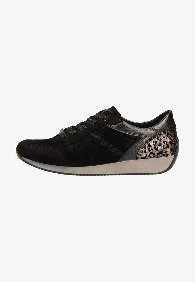 Sneakers laag - schwarz, titan 87