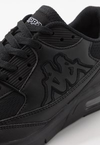 Kappa - HARLEM II UNISEX - Zapatillas de running neutras - triple black - 5