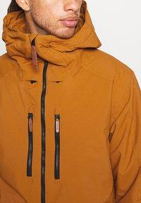 O'Neill - TEXTURE JACKET - Snowboard jacket - glazed ginger - 6