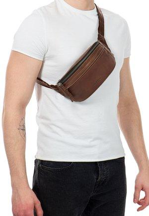 Bum bag - dark brown