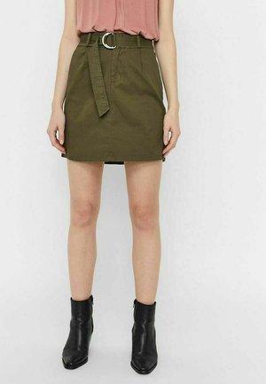 Mini skirt - ivy green