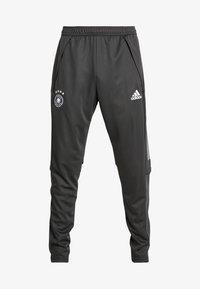 adidas Performance - DEUTSCHLAND DFB TRAINING PANT - Koszulka reprezentacji - carbon - 5