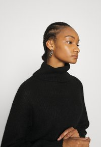 Zign - Roll neck- wool blend - Jumper - black - 3