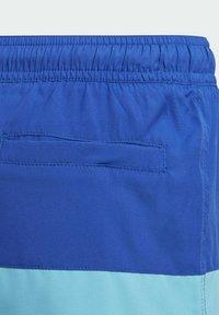 adidas Performance - COLORBLOCK SWIM SHORTS - Swimming shorts - blue - 2