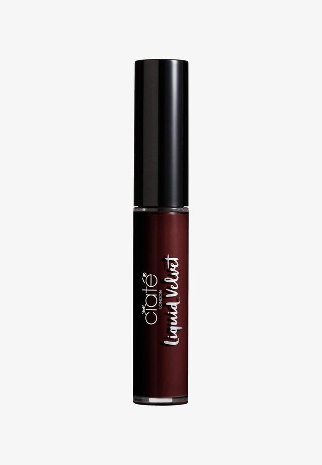MATTE LIQUID LIPSTICK - Vloeibare lippenstift - voodoo-vamp red